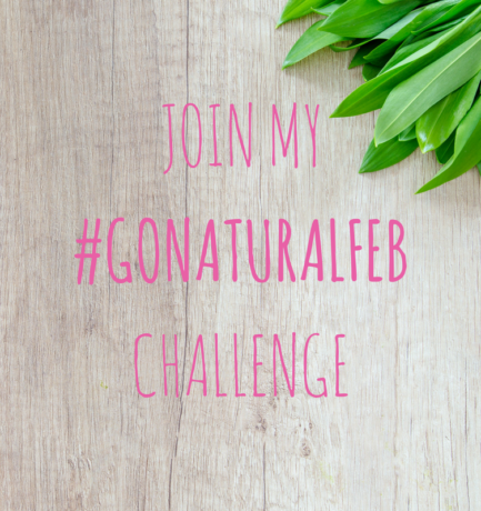Join my February 'Go Natural' Challenge!